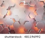 abstract 3d rendering... | Shutterstock . vector #481196992