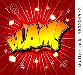 blam illustration | Shutterstock . vector #481204972