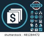 finances icon with bonus....   Shutterstock .eps vector #481284472