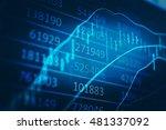 data analyzing in forex... | Shutterstock . vector #481337092