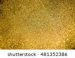 festive abstract of gold... | Shutterstock . vector #481352386