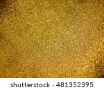 festive abstract of gold... | Shutterstock . vector #481352395