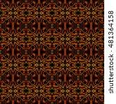 abstract geometric seamless...   Shutterstock . vector #481364158