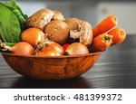 various vegetables on a table...