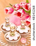 Little Easter Bunny Cupcakes O...
