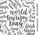 beautiful lettering for tourism ... | Shutterstock .eps vector #481433482