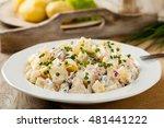 Traditional German Potato Sala...