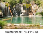 Clear Hanging Lake And...