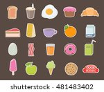 set of different stickers....   Shutterstock .eps vector #481483402