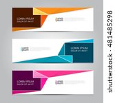 vector design banner... | Shutterstock .eps vector #481485298