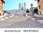 Spanish Steps In Piazza Di...