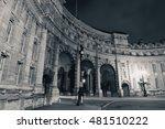 admiralty arch near trafalgar... | Shutterstock . vector #481510222