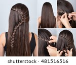 tutorial photo step by step of... | Shutterstock . vector #481516516