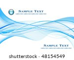 abstract blue background... | Shutterstock .eps vector #48154549