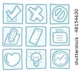 universal icons | Shutterstock .eps vector #48154630