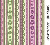 spring  pattern  seamless ... | Shutterstock .eps vector #48155386
