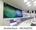 the central control room of... | Shutterstock . vector #481560352