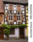 Small photo of An old house in Alsace, France