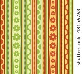 spring  pattern  seamless ... | Shutterstock .eps vector #48156763