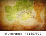 Eucharist Symbols  Bread And...