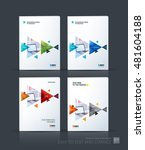 brochure template layout  cover ... | Shutterstock .eps vector #481604188