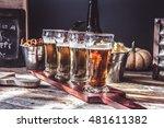 beer tasting   | Shutterstock . vector #481611382