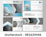 social media posts set.... | Shutterstock .eps vector #481634446