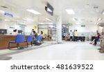 blurred background patient... | Shutterstock . vector #481639522