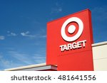 target retail store located in...   Shutterstock . vector #481641556