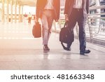 business was slow to walk. the... | Shutterstock . vector #481663348