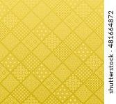 golden diamond background with... | Shutterstock .eps vector #481664872