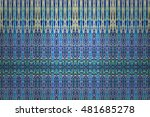 colorful abstract texture... | Shutterstock . vector #481685278