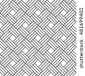 geometric pattern  tile  line... | Shutterstock .eps vector #481699402