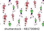 vector seamless background of... | Shutterstock .eps vector #481730842