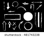 collection of graphic elements. ... | Shutterstock .eps vector #481743238