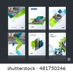 brochure template layout  cover ... | Shutterstock .eps vector #481750246