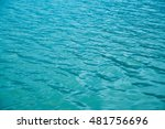 abstract blue water background | Shutterstock . vector #481756696