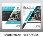 blue technology cover business... | Shutterstock .eps vector #481776955