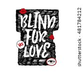 blind for love with patch... | Shutterstock .eps vector #481784212