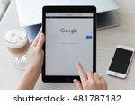 alushta  russia   september 1 ... | Shutterstock . vector #481787182
