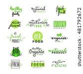 hand lettering logo of... | Shutterstock .eps vector #481792672