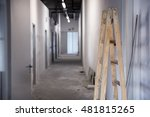renovation of a small business... | Shutterstock . vector #481815265