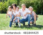 Family With Three Children On...