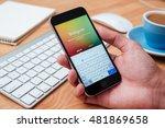chiang mai  thailand   january...   Shutterstock . vector #481869658