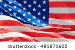 usa flag | Shutterstock . vector #481871602