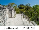 Top Of Talud Tablero Temple At...