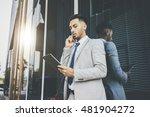 serious businessman wearing... | Shutterstock . vector #481904272