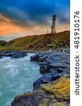 girdle ness lighthouse during...   Shutterstock . vector #481910176