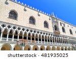 detail of venetian gothic... | Shutterstock . vector #481935025