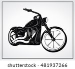 motorcycle vector illustration. ...